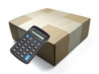 calculator with a boxed order